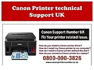 How to Update Canon Printer's Device Driver? - Canon Printer Support Number UK