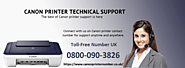 Issues of Canon Printer and Its Fix | Canon printer number UK