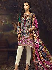Buy Unstitched Cambric Collection 2018 | Mid Summer Collection 2018 | Limelight.pk – Limelightpk