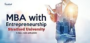 MBA in Enterpreneurship Course by Stratford University
