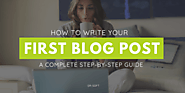 How to Write Your First Blog Post (A Complete Beginner Guide) - DrSoft