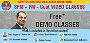 CA Final SFM Classes | Online Classes of CA Inter | IPCC-Cost and Management Accounting | Video Classes | CMA Chander...