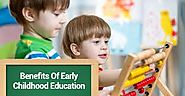 Benefits of early childhood education – playschool