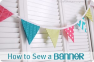 How to sew a bunting Tutorial