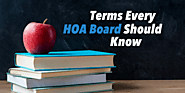 Terms Every HOA Board Should Know | HOA Management Definitions