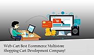 Web-Cart - Multi Store Shopping Cart Solution, Online Shopping Software
