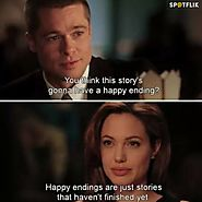 "Spotflik App - Movie Quote: ""Mr. and Mrs. Smith"" Join the... 