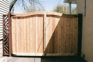 Wooden Fence design by TotalFence Inc