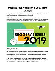 Optimise Your Website with 2019's SEO Strategies