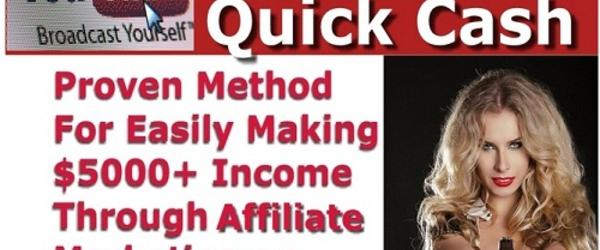 Headline for YouTube Quick Cash Review Scam or Legit