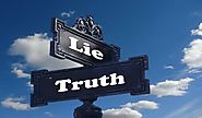 Such A Lie Is Better Than Truth- Try And See The Difference - Think It Positive