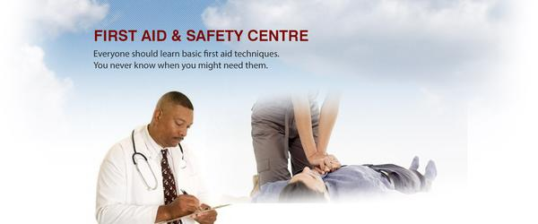 Headline for First Aid and Safety Training Centre