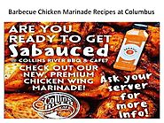Barbecue chicken marinade recipes at columbus