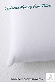 This memory foam pillow is designed from the latest technology and wants you will love most is that this product is r...