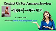 For Amazon Services Contact to Vintek System