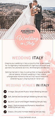 Best Wedding Events Italy