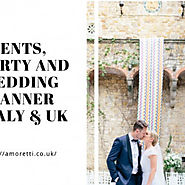 Amoretti Wedding Planner Italy – Provide Best Wedding Venues by Style