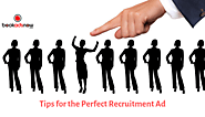 Tips for the Perfect Recruitment Ad in newspapers | Bookadsnow