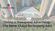 Online or Newspaper Advertising for Property Ads - Which one is better?