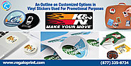 An Outline on Customized Options in Vinyl Stickers Used For Promotional Purposes