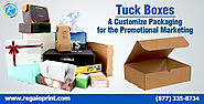 Tuck Boxes| A Customize Packaging for the Promotional Marketing