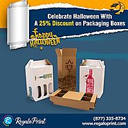 Celebrate Halloween with A 25% Discount on Packaging
