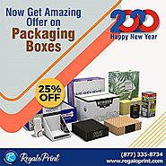 Now Get Amazing Offer On Packaging Boxes RegaloPrint - New York - New York ID1129456 - Classtize