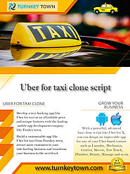 Uber for Taxi clone app development