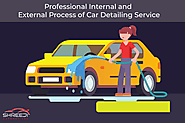 Professional Internal and External Process of Car Detailing Service