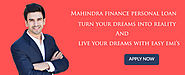 Mahindra Finance Personal Loan | EMI Calculator | Interest rates 2018