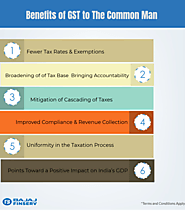 6 Benefits of GST to The Common Man | Articles Maker
