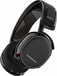 SteelSeries Arctis 7 Lag-Free Wireless Gaming Headset with DTS Headphone:X 7.1 Surround for PC, Playstation 4, VR, Ma...