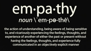 Be humane and show empathy