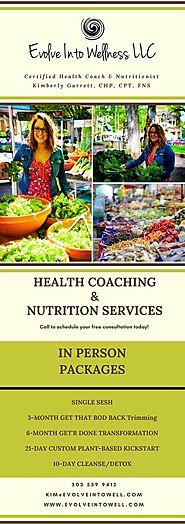 Certified Health Coach & Nutritionist in Portland