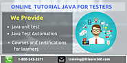 Selenium With Java Training