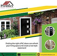 UPVC Residential Door Styles and Designs