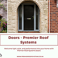 UPVC Residential Doors available @ premierroofsystems.co.uk