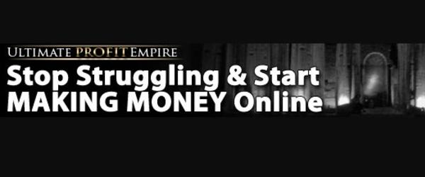 Headline for Ultimate Profit Empire Review of Alex Jeffreys New Product