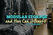 Modular Storage - How Can it Benefit Your Business? - Blog
