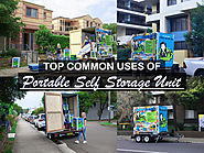 Portable Storage Unit and their common Uses - Blog