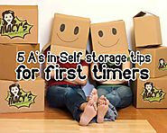5 A's in Self Storage Tips for First Timers That You Need to Know