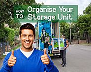 How to Organise Your Storage Unit - Blog