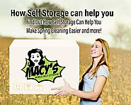 How Self Storage Can Help You Make Spring Cleaning Easier - Blog