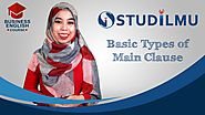 "Our New Course- ""Basic Types of Main Clause"""