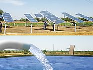 Lubi Solar Installed Solar Pump System Project By MGVCL