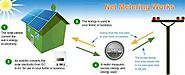 How Grid Tied Solar Plant Works Using Net Metering