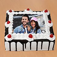 Buy or Order Black Forest Photo Cake Online , India's Best Gifting Website - OyeGifts