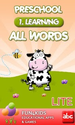 Preschool All Words 1 Lite - Aplicativos para Android no Google Play