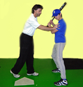Best Baseball Coaching Method - Stop, Look, & Check Batting Practices