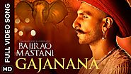 Gajanana Full Video Song | Bajirao Mastani